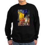 Cafe & Boxer Sweatshirt (dark)