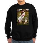 Windflowers & Boxer Sweatshirt (dark)