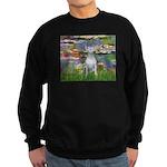 Windflowers Bull Terrier Sweatshirt (dark)