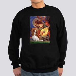 Mandolin Angel & Cavalier Sweatshirt (dark)