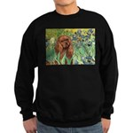 Irises & Ruby Cavalier Sweatshirt (dark)