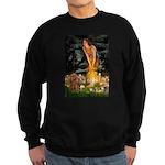 Fairies & Ruby Cavalier Sweatshirt (dark)