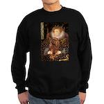 The Queen's Ruby Cavalier Sweatshirt (dark)
