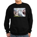 Creation / Chihuahua Sweatshirt (dark)