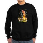 Fairies & Chihuahua Sweatshirt (dark)