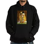 The Kiss & Chihuahua Hoodie (dark)