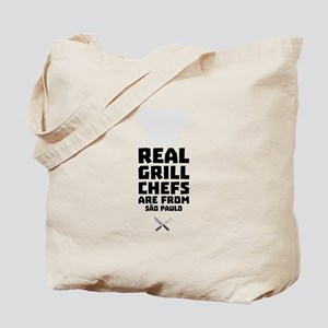 Real Grill Chefs are from São Paulo Tote Bag