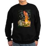 Midsummer / Cocker Spaniel Sweatshirt (dark)