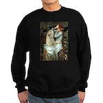 Ophelia / Cocker Spaniel (buff) Sweatshirt (dark)