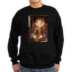 Queen / Cocker Spaniel (br) Sweatshirt (dark)
