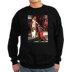 Accolade / Collie (s&w) Sweatshirt (dark)