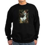 Ophelia's Dachshund Sweatshirt (dark)