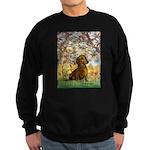 Spring / Dachshund Sweatshirt (dark)