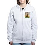 Spring / Dachshund Women's Zip Hoodie