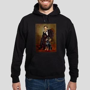 Lincoln's Doberman Hoodie (dark)