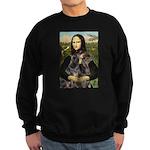 Mona's 2 Dobies Sweatshirt (dark)