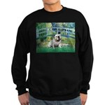 Bridge / English Bulldog (#9) Sweatshirt (dark)