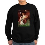 Seated Angel / G-Shepherd Sweatshirt (dark)