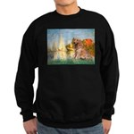 Sailboats (#2) & Golden Sweatshirt (dark)