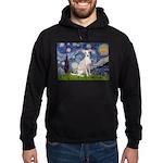 Starry Night / Ital Greyhound Hoodie (dark)