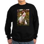 Windflowers / Ital Greyhound Sweatshirt (dark)