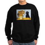 Sunflowers / Lab Sweatshirt (dark)