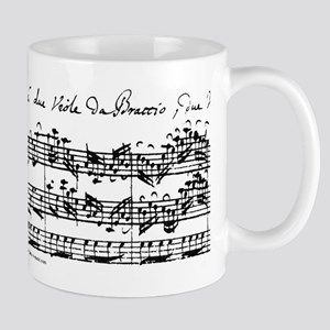 Bach's Brandenburg 6 Co Stainless Steel Travel Mug