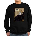 Whistler's Mother Maltese Sweatshirt (dark)