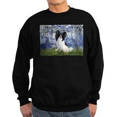 Lilies (#6) & Papillon Sweatshirt (dark)