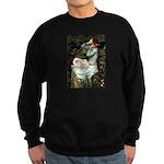 Ophelia /Pekingese(w) Sweatshirt (dark)