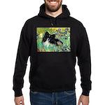 Irises / Pomeranian(bb) Hoodie (dark)