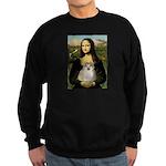 Mona/Pomeranian (#1) Sweatshirt (dark)