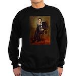 Lincoln-Black Pug Sweatshirt (dark)