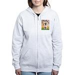 Spring / Pug Women's Zip Hoodie