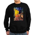 Cafe & Rottweiler Sweatshirt (dark)