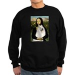 Mona / Samoyed Sweatshirt (dark)