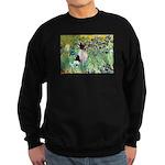 Irises / Toy Fox T Sweatshirt (dark)