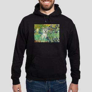 Irises / Westie Hoodie (dark)