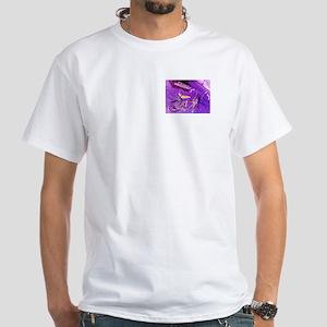 Low Rider Bicycle White T-Shirt