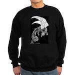 Whitewinged/blackback Dragon Sweatshirt (dark)