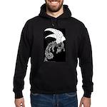 Whitewinged/blackback Dragon Hoodie (dark)