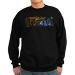 Fire Drake and Sea Serpent Sweatshirt (dark)