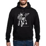 Dappled Unicorn Hoodie (dark)