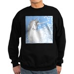Blue Unicorn Dream Sweatshirt (dark)