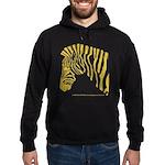Grant's Zebra Portrait Hoodie (dark)