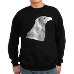 Wedge Tailed Eagle Fine Sweatshirt (dark)