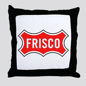 Frisco Railroad Throw Pillow