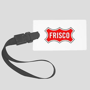 Frisco Railroad Large Luggage Tag