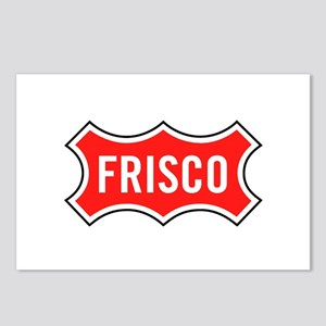 Frisco Railroad Postcards (Package of 8)