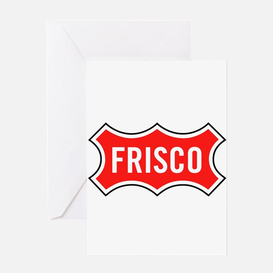 Frisco Railroad Greeting Cards